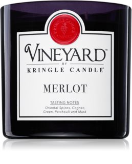 Kringle Candle Vineyard Merlot vela perfumada