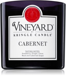 Kringle Candle Vineyard Cabernet candela profumata