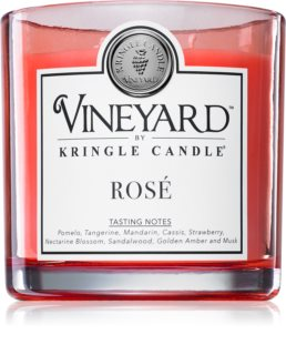Kringle Candle Vineyard Rosé bougie parfumée
