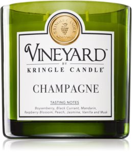 Kringle Candle Vineyard Sparkling Wine candela profumata