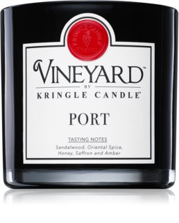 Kringle Candle Vineyard Port scented candle