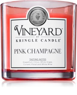 Kringle Candle Vineyard Pink Sparkling Wine geurkaars