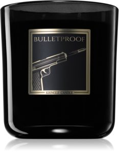 Kringle Candle Black Line Bulletproof scented candle