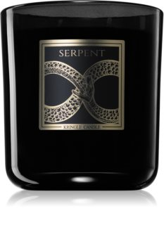 Kringle Candle Black Line Serpent bougie parfumée