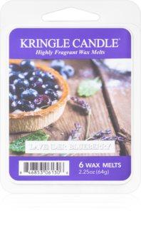 Kringle Candle Lavender Blueberry illatos viasz aromalámpába