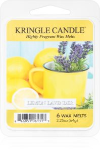 Kringle Candle Lemon Lavender cera per lampada aromatica