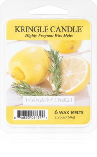 Kringle Candle Rosemary Lemon cera per lampada aromatica