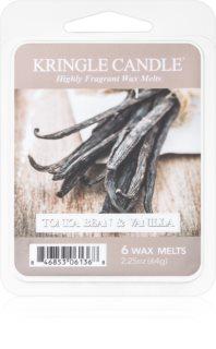 Kringle Candle Tonka Bean & Vanilla illatos viasz aromalámpába