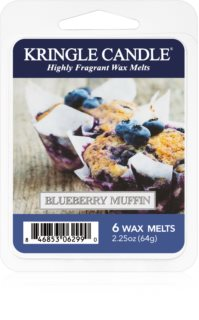 Kringle Candle Blueberry Muffin tartelette en cire