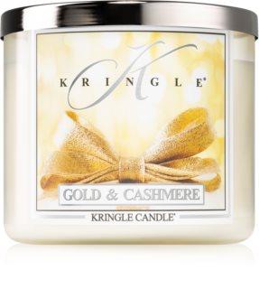 Kringle Candle Gold & Cashmere vonná svíčka I.