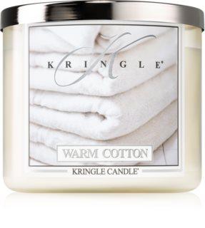 Kringle Candle Warm Cotton bougie parfumée I.