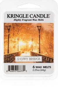 Kringle Candle Snowy Bridge smeltevoks