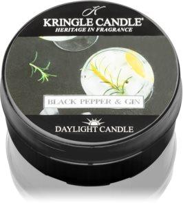 Kringle Candle Black Pepper & Gin bougie chauffe-plat
