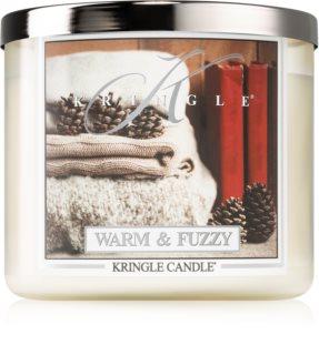 Kringle Candle Warm & Fuzzy geurkaars I.