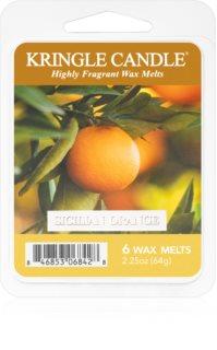 Kringle Candle Sicilian Orange vosek za aroma lučko