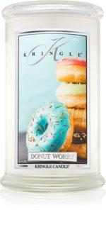 Kringle Candle Donut Worry candela profumata 624 g