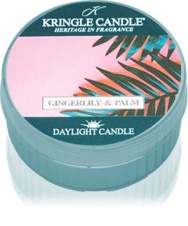 Kringle Candle Gingerlily & Palm bougie chauffe-plat