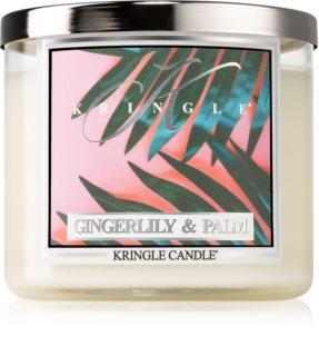 Kringle Candle Gingerlily & Palm bougie parfumée I.