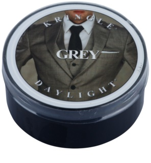 Kringle Candle Grey čajna sveča