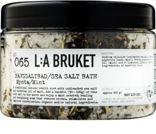 L:A Bruket Spa сіль для ванни з м'ятою перцевою