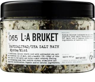 L:A Bruket Spa αλάτι λουτρού με μέντα