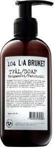 L:A Bruket Body folyékony szappan bergamottal és pacsulival kézre és testre