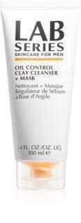 Lab Series Oil Control Clay Cleanser + Mask Reinigungsmaske für fettige Haut