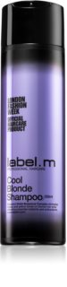 label.m Cool Blonde Shampoo for Blonde Hair for Yellow Tones Neutralization