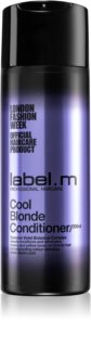 label.m Cool Blonde Conditioner für blondes Haar neutralisiert gelbe Verfärbungen