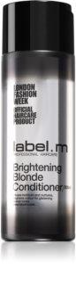label.m Brightening Blonde rozjasňující kondicionér pro blond vlasy