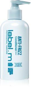 label.m Anti-Frizz acondicionador para alisar el cabello rebelde y encrespado