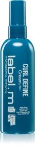 label.m Curl Define crème cheveux pour cheveux bouclés