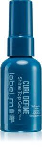 label.m Curl Define spray hidratante para dar brillo al cabello ondulado y rizado