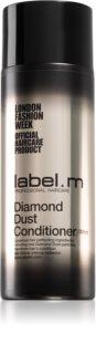 label.m Diamond Dust revitalisierender Conditioner, um dem müden Haar seine Strahlkraft zurückzugeben