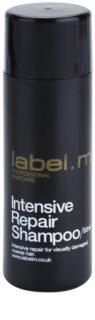 label.m Cleanse αποκαταστατικό σαμπουάν για κατεστραμμένα μαλλιά