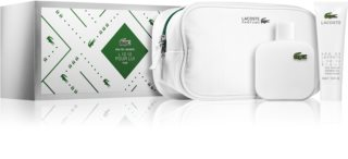 Lacoste Eau de Lacoste L.12.12 Blanc Gift Set III. for Men