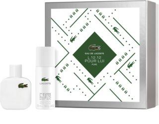 Lacoste Eau de Lacoste L.12.12 Blanc zestaw upominkowy dla mężczyzn