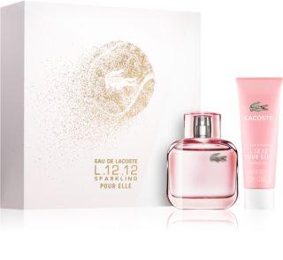 Lacoste Eau de Lacoste L.12.12 Pour Elle Sparkling confezione regalo II. da donna