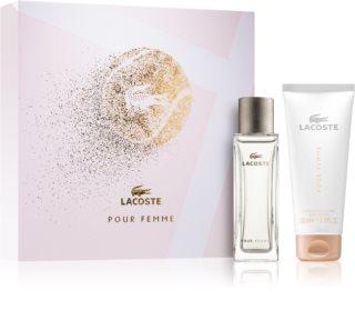 Lacoste Pour Femme Geschenkset II. für Damen