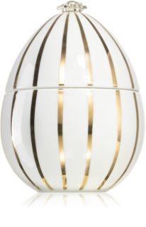 Ladenac Faberger Huevo Golden Lines White αρωματικό κερί