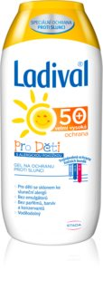 Ladival Kids loção protetora gel - creme contra as alergias ao sol SPF 50+
