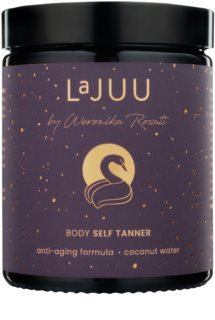 Lajuu Body Self Tanner Self-Tanning Lotion with Anti-Aging Effect