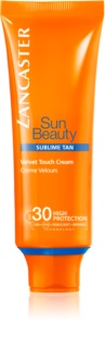 Lancaster Sun Beauty Velvet Cream крем для загара лица SPF 30