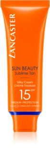 Lancaster Sun Beauty Silky Cream крем для загара лица SPF 15