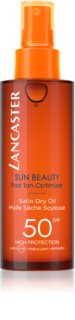 Lancaster Sun Beauty Satin Dry Oil Torr solskyddsolja i spray SPF 50
