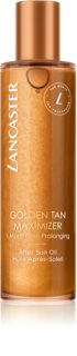 Lancaster Golden Tan Maximizer After Sun Oil olio corpo per prolungare la durata dell'abbronzatura