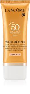 Lancôme Soleil Bronzer слънцезащитен крем за лице SPF 50