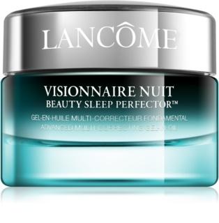 Lancôme Visionnaire Nuit нощен хидратиращ гел-крем за изглаждане на кожата