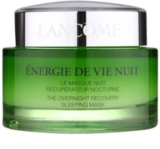 Lancôme Énergie de Vie noćna obnavljajuća maska za umornu kožu lica