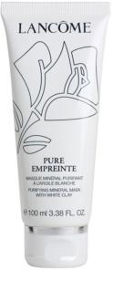 Lancôme Pure Empreinte Masque máscara de limpeza para pele oleosa e mista